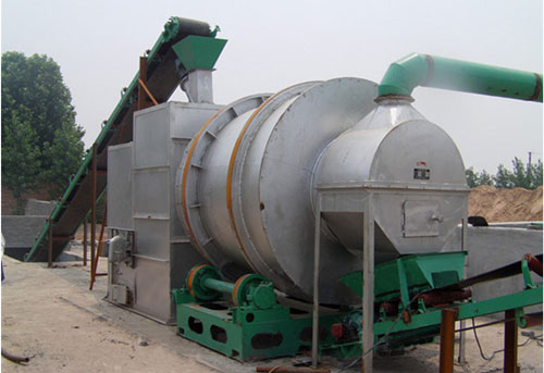 Three cylinder dryer